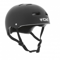 Casque bol TSG SKATE/BMX Solid Color Noir