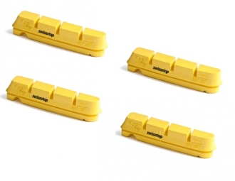 X4 cartouches de patins de fresin swisstop flash pro king shimano sram jantes carbone