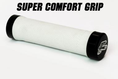 RENTHAL Paire de Grips Lock-on SUPER SOFT Blanc