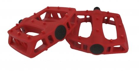 BLB Kunststoff Pedale T-REX Rot