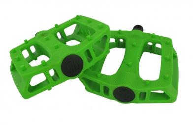 BLB T-Rex Plastic Pedals - Flat - Lime Green P21,438P21,438