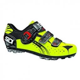 Chaussures VTT Sidi Eagle 5 Fit 2014 Noir Jaune Fluo