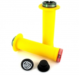 SB3 Grips DONUT  Lock-on Yellow