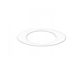 OAKLEY Sticker ICON Blanc 14 cm