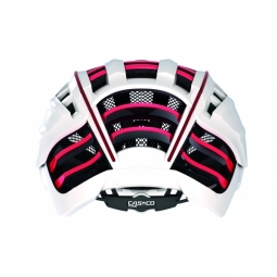 casco casque speedairo avec visiere blanc rouge l 59 63 cm