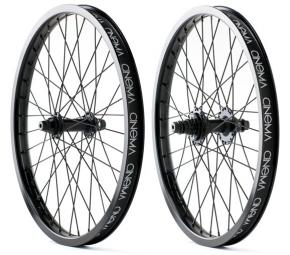 CINEMA wheel Pack Front + Rear 333 Black