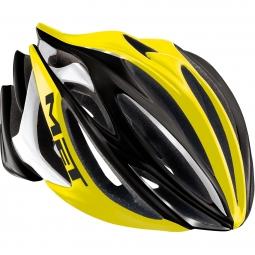 MET Helmet STRADIVARIUS Black Yellow