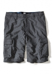 OAKLEY Short WHEELIE CARGO Noir Plaid