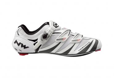 Chaussures Route Northwave EVOLUTION SBS 2013 Blanc Noir