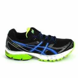 Running asics gel pulse noir jaune 45
