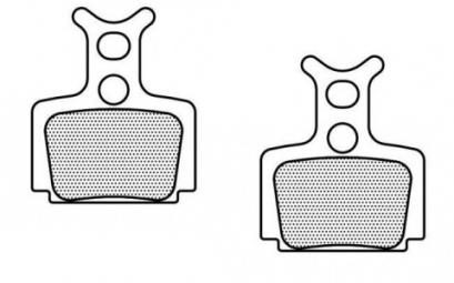 FORMULA Paire de plaquettes semi-métalliques Pour freins Formula C1/MEGA/T1/R1/RX