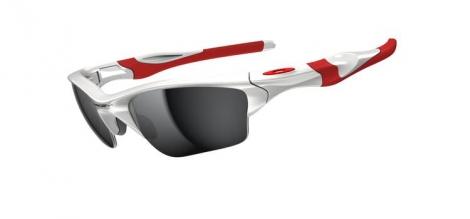 oakley lunettes half jacket 2 0 xl blanc gris ref oo9154 23
