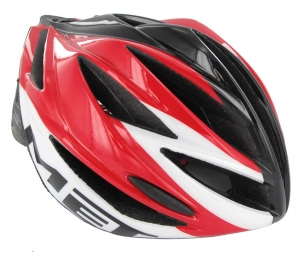 MET 2013 Helmet  FORTE Red White Black
