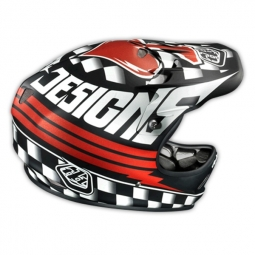 TROY LEE DESIGNS 2014 Helmet D2 ACE MAT Black
