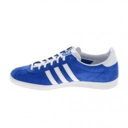 Basket mode Sneakers ADIDAS Gazelle Bleu Blanc