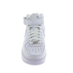 Basket mode Sneakers NIKE Air Force 1 Mid Blanc