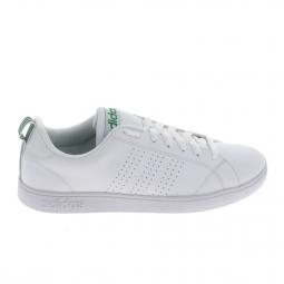 Basket mode sneakers adidas advantage clean blanc blanc 44