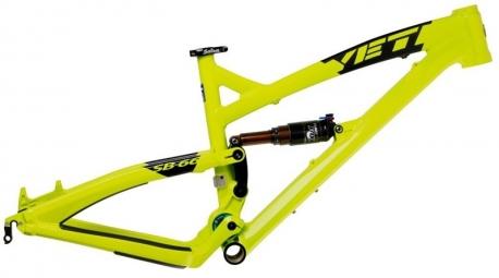 YETI 2013 Frame SB 66 26'' Aluminium + Rear Shox RP2 Lime
