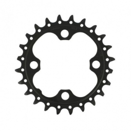 SHIMANO Chainring SLX FC-M675  24 T 2x10 Speeds Black