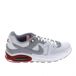 Sneakers nike air max command blanc gris rouge 39
