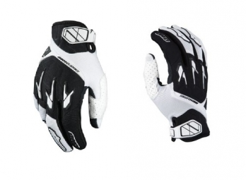 ONE INDUSTRIES Paire de Gants Longs DRAKO Blanc Noir