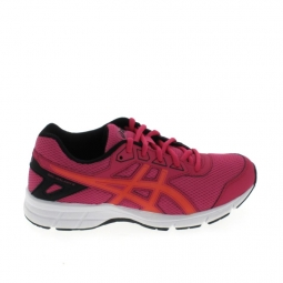 Chaussure multi sports asics gel galaxy 9 jr rose