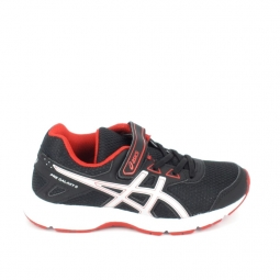 Chaussure multi sports asics pre galaxy c noir rouge