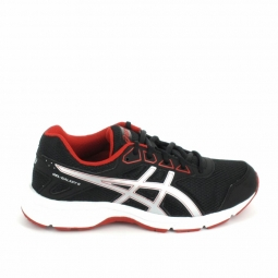 Chaussure multi sports asics galaxy jr noir rouge