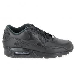 magasin en ligne 2249f 33e0d Basket mode, SneakerBasket mode - Sneakers NIKE Air Max 90 Cuir Noir