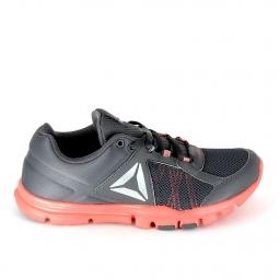 Chaussure de runningrunning reebok yourflex trainette gris rose 37
