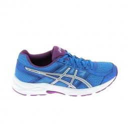 Chaussure de runningrunning asics gel contend 4 bleu gris