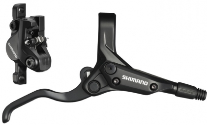 SHIMANO Front Hydraulic Brake M395 Without disc and adaptor Black