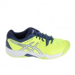 Chaussure de tennis asics gel resolution 6 jr jaune