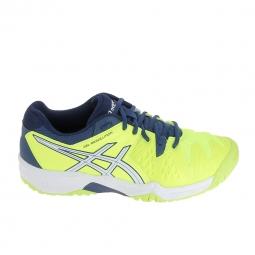 Chaussure de tennis asics gel resolution 6 jr jaune 37