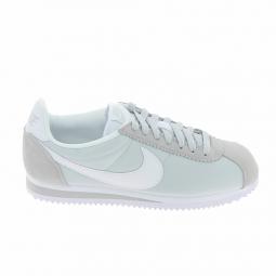 Basket mode, SneakerBasket -mode - Sneakers NIKE Cortez Nylon Platine Blanc