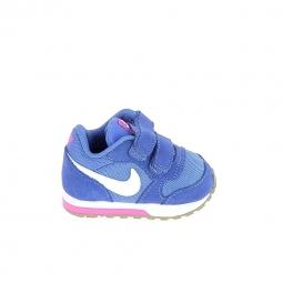 Chaussure bebe nike md runner 2 bb bleu 25