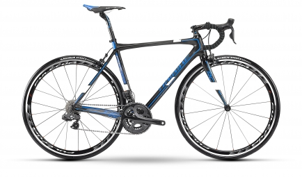 HAIBIKE 2013 Vélo complet SPEED RC Ultegra Di2 carbone Bleu