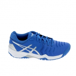 Chaussure de tennis asics gel resolution 7 jr bleu