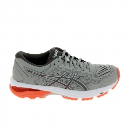 Chaussure de runningrunning asics gt 1000 6 gris