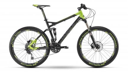 HAIBIKE 2013 Vélo Complet IMPACT SL 26'' 30V Noir Vert