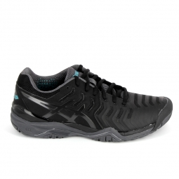 Chaussure de tennistennis multisports asics gel resolution 7 noir