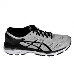 Chaussure de runningrunning asics gel kayano 24 gris noir
