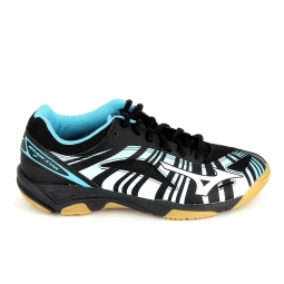 Chaussure de tennis mizuno mirage star 2 jr noir bleu 34
