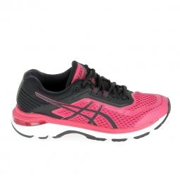 Chaussure de runningrunning asics gt 2000 6 noir rose 37