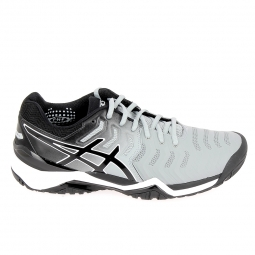 Chaussure de tennistennis multisports asics gel resolution 7 gris noir