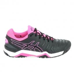 Chaussure de tennistennis multisports asics gel challenger 11 noir rose