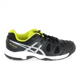 Chaussure de tennis asics gel game k 5 noir jaune