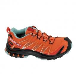 Chaussure de runningRando - Trail SALOMON XA Pro 3D GTX Orange Noir