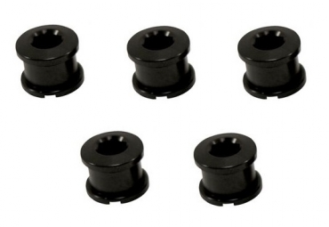 Ice kit de 5 vis cheminee r bolt 8 5mm noir