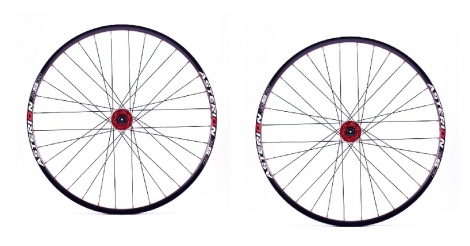 ASTERION Wheelset ESP 29'' 15mm and 12x142mm NOIR
